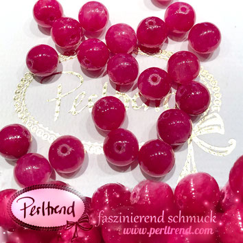 www.perltrend.com Edelsteine Gemstones Steine Perlen Heilsteine Schmuck Schmuckdesign Perltrend Luzern Schweiz Onlineshop Quarz Rot Rosarot red quartz Edelsteinperlen