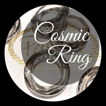 www.perltrend.com Swarovski Crystal Elements original Crystals Perltrend Luzern Schweiz Onlineshop Schmuck Jewellery Schmuckverarbeitung Cosmic Ring