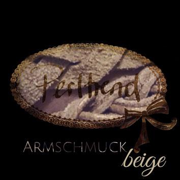 Perltrend Luzern Schweiz www.perltrend.com Schmuck Jewellery Jewelry Bijoux Gioielli Armschmuck Armband Bracelet Armkette Accessoires Armbänder beige beigefarben sandfarben hellbraun