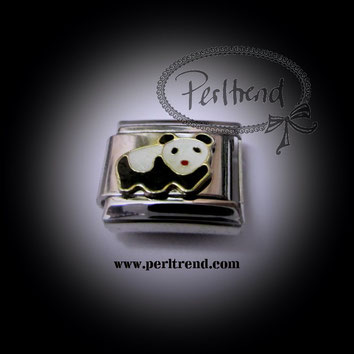 www.perltrend.com charm schmuck armband module tiere panda