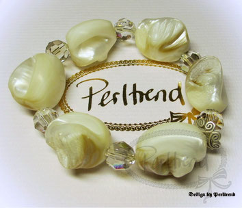 www.perltrend.com Armschmuck Bracelet Schmuck Perltrend Luzern Schweiz Onlineshop Jewellery Jewelry Mother of pearl Perlmutt Shell Head Crystal Swarovski