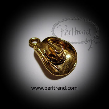 www.perltrend.com Anhänger goldfarben Hüte