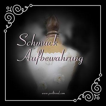 www.perltrend.com Schmuckaufbewahrung Torso Schmuckständer Musikdosen