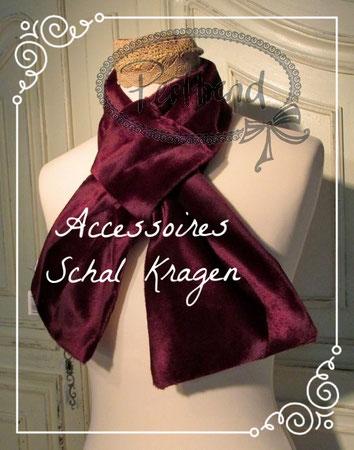 www.perltrend.com Accessoires Schal Kragen Accessoir Classic Klassisch elegant Kragenschal Kragen Kleid Kleider Perltrend Luzern Schweiz Onlineshop