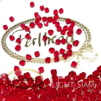 Perltrend www.perltrend.com Luzern Schweiz Onlineshop Schmuck Perlen Swarovski Crystals Bicone beads bead Doppelkegel 4 mm Light Siam