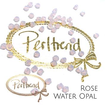 Perltrend www.perltrend.com Luzern Schweiz Onlineshop Schmuck Perlen Swarovski Crystals Bicone beads bead Doppelkegel 4 mm Rose Water Opal