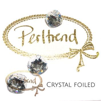 Perltrend Luzern Schweiz Onlineshop Schmuck Perlen Accessoires Verarbeitung Design Swarovski Crystals Crystal original Fancy Stones Cabochons Round Square Cushion 4470 12 mm Crystal