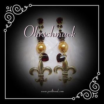 www.perltrend.com Ohrschmuck Ohrringe Ohrstecker
