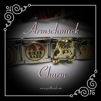 www.perltrend.com Armschmuck Charm Charms Module Stahl Armband