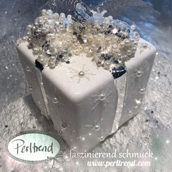 www.perltrend.com luzern schweiz onlineshop schmuck perlen dekoration accessoires home weihnachten weihnachtskugel geschenk 8 cm