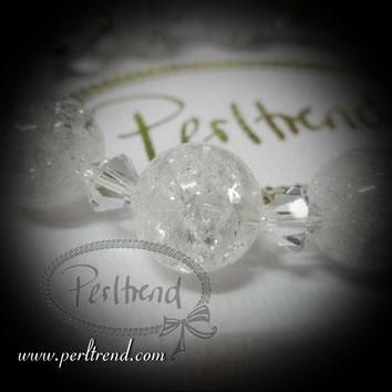 Perltrend Luzern Schweiz Schmuck Onlineshop  www.perltrend.com Jewellery Jewelry  Armschmuck Bracelet Armband Bergkristall Edelstein Gemstone Swarovski Crystal Crystals Kristall