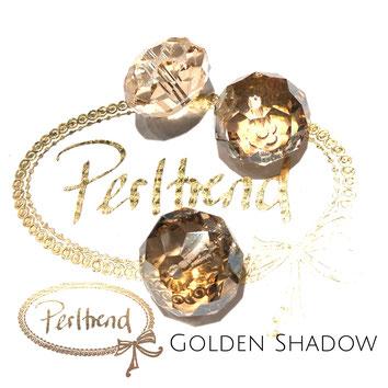 Perltrend Luzern Schweiz Onlineshop Schmuck Perlen Accessoires Verarbeitung Design Swarovski Crystals Crystal original Briolette Bead Crystal Golden Shadow 18 mm facettiert