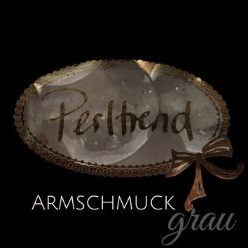 Perltrend Luzern Schweiz www.perltrend.com Schmuck Jewellery Jewelry Bijoux Gioielli Armschmuck Armband Bracelet Armkette Accessoires Armbänder grau grey hellgrau dunkelgrau anthrazit