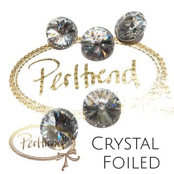 www.perltrend.com Swarovski Crystal Elements original Crystals Perltrend Luzern Schweiz Onlineshop Schmuck Jewellery Schmuckverarbeitung facettet facettierte Crystal Chaton Round Stones Rivoli 1122 Crystal 14 mm