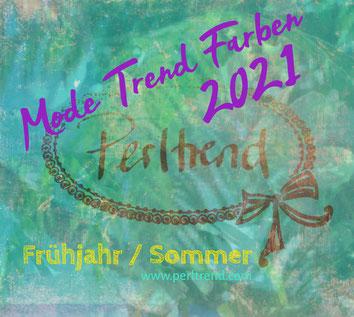 Mode Trend Trendfarben Farben Fashion Colors Fashion Week Frühjahr Spring Sommer Summer 2021