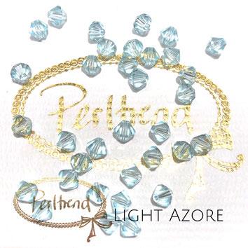 Perltrend www.perltrend.com Luzern Schweiz Onlineshop Schmuck Perlen Swarovski Crystals Bicone beads bead Doppelkegel Light Azore 6 mm