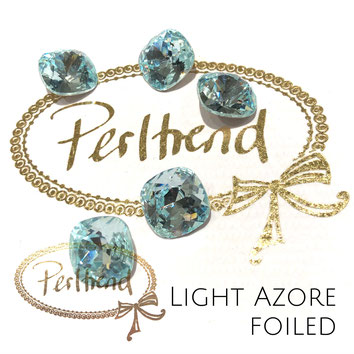 Perltrend Luzern Schweiz Onlineshop Schmuck Perlen Accessoires Verarbeitung Design Swarovski Crystals Crystal original Fancy Stones Cabochons Round Square Cushion 4470 12 mm Light Azore