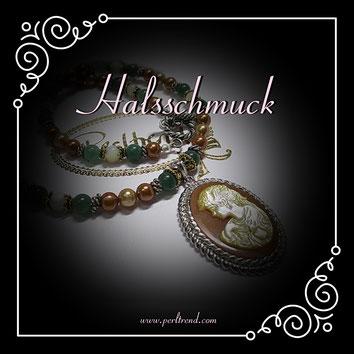 www.perltrend.com Halsschmuck Halsband Halsketten