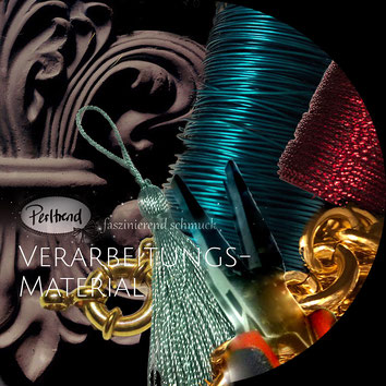 www.perltrend.com Verarbeitungsmaterial Perltrend Luzern Schweiz Onlineshop Schmuck Perlen Accessoires