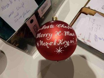 Weihnachtsgeschenk für die Chefin