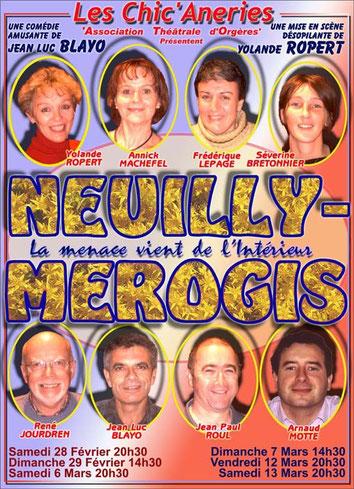 NEUILLY-MEROGIS Saison 2004