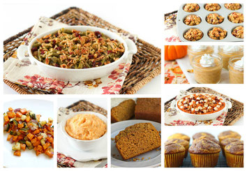 Healthy tips and recipes for Thanksgiving!