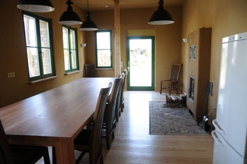 Gruppenküche im Erdgeschoss