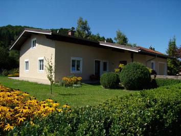 Chiemgau, Urlaub, barrierefrei, ebenerdiges Ferienhaus stufenlos, treppenfrei, , funkfrei, funkarm, ohne Elektrosmog