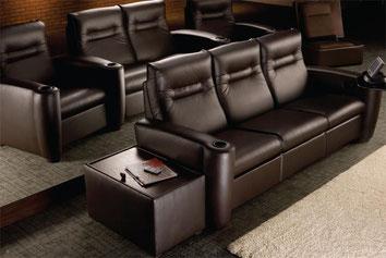 Кресла для домашнего кинозала Salamander Designs серии Talia