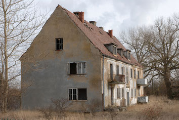 Gebäude der ehemaligen Wohnsiedlung Rerik-West