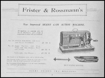 1932 Frister & Rossmann Sewing Machine Catalogue