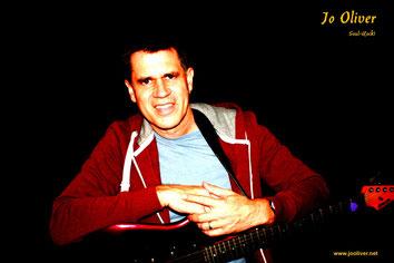 Soul-Rock Sänger & Gitarrist: Jo Oliver