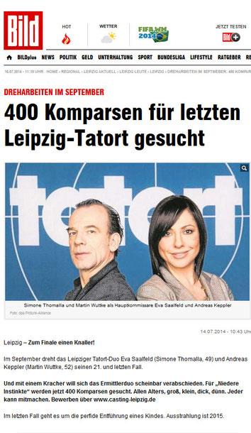 Leipzig Vermittlung Komparsen, Darsteller, Models