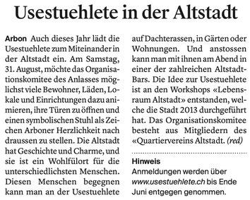 Thurgauer Zeitung, 07.05.2019