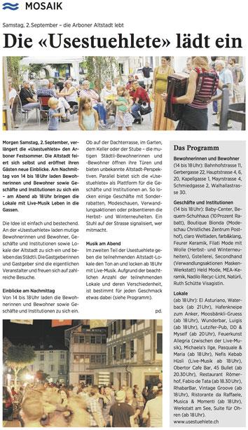 Wochenzeitung felix, 01.09.2017