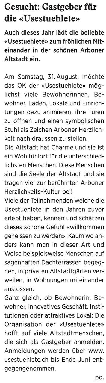 Wochenzeitung Felix, 10.05.2019