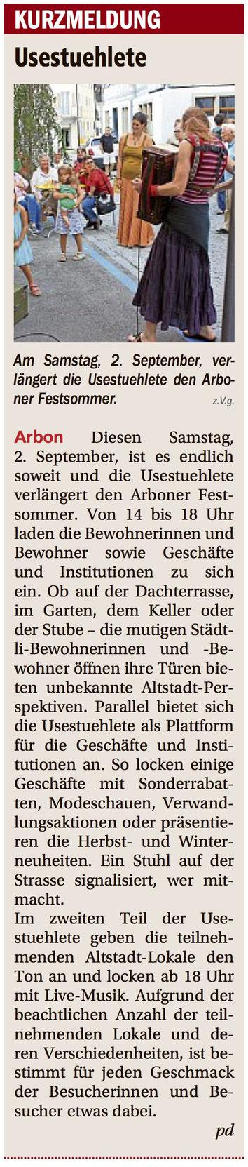 Bodensee Nachrichten, 31.08.2017