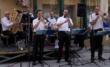 Jazzhouse Company beim Schlossbergspiele Warm-Up 2011