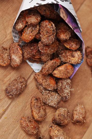 gebrannte Mandeln mit TNT Zucker von Stayspiced
