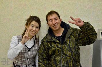 佐藤千晶&鈴木淳(ともにJPBA)