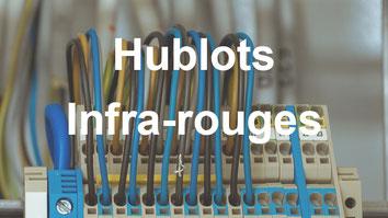 hublots pour contrôle thermographique des installations électriques fermées
