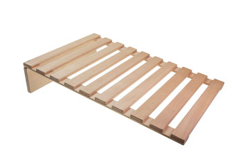 Caillebotis en bois de hêtre naturel, FMU GmbH, caillebotis en bois