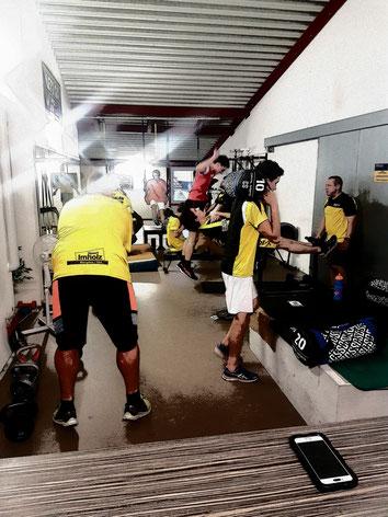 Workout für Mannschaften (Fussball, Unihockey, etc..)