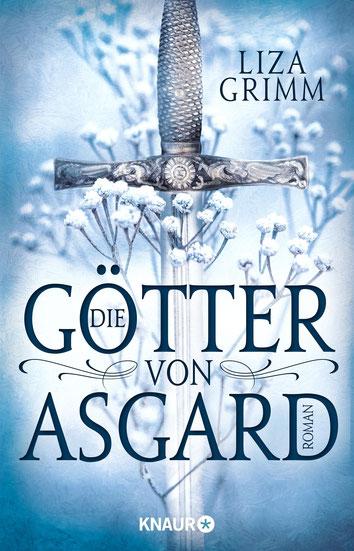 """""""Die Götter von Asgard"""" von Liza Grimm, Droemer Knaur, 12,99 € - mit signiertem Aufkleber"""