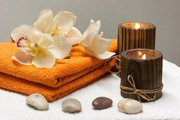 Entspannung, Kristallbett, Meditation, Meditatives Laufen, Aromaöl, Aroma, Duft, Düfte