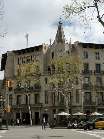 Шедевры архитектуры Барселоны эпохи модерна