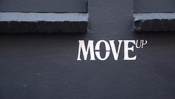 Schriftzug Move