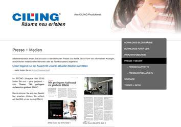Bild zur Verlinkung zur www.ciling24,de Presse und Medien