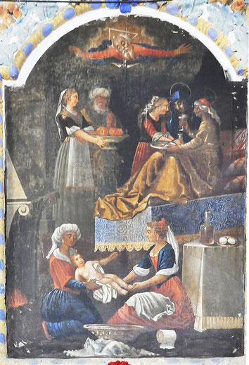 Nocario - Chap. St Jean-Baptiste - Naissance de St Jean (G. Grandi)