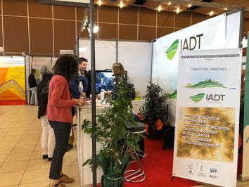 Le stand de l'IADT